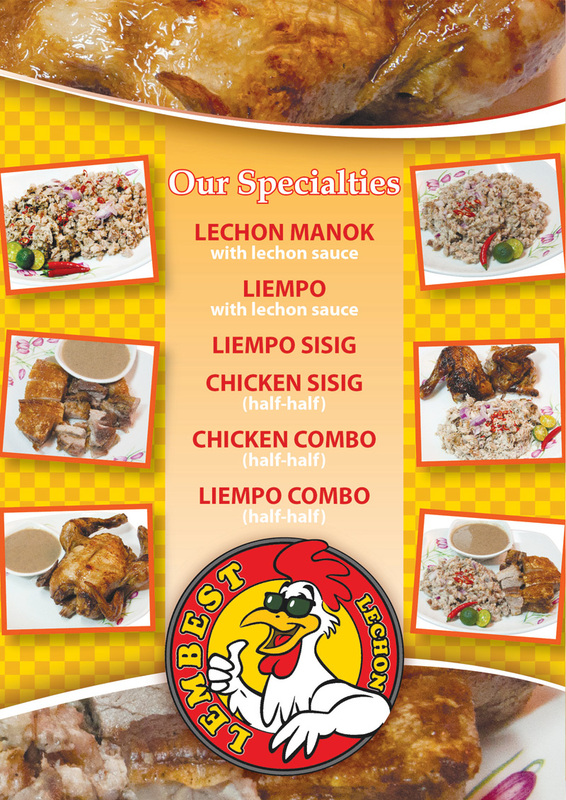 Lembest specialties and other food choices